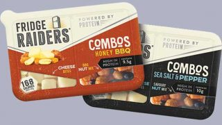 Fridge Raiders Cheese and Nut Combos