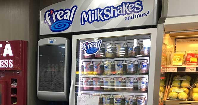 F'real milkshake machine