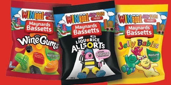 Maynards Bassetts packs