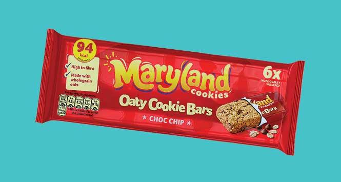 Maryland Oaty Cookie Bars
