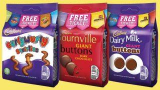 Cadbury packs with Merlin promotion