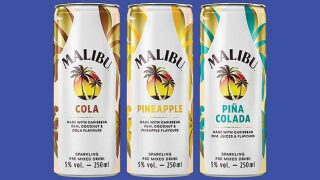Malibu cans