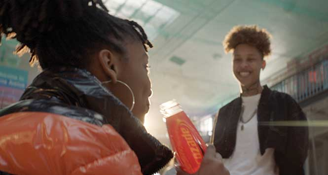 'Spark something' with Lucozade Energy