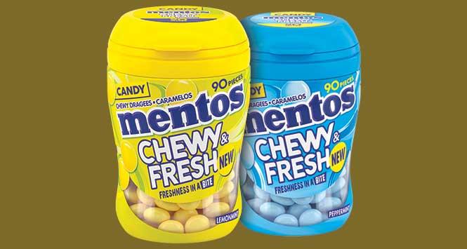 Mentos Chewy & Fresh
