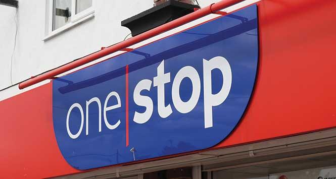 One Stop fascia board