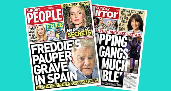 Sunday People and Sunday Mirror