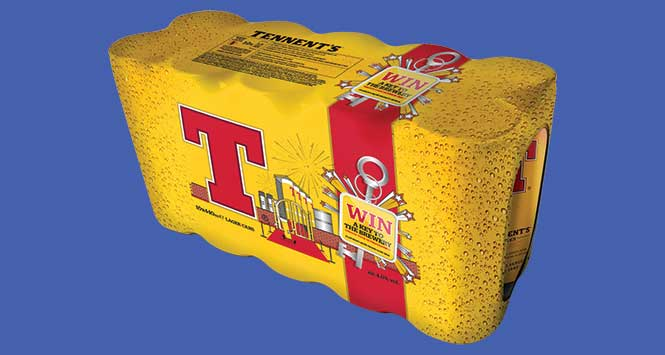 Tennent's Key to the Brewery promotional packs