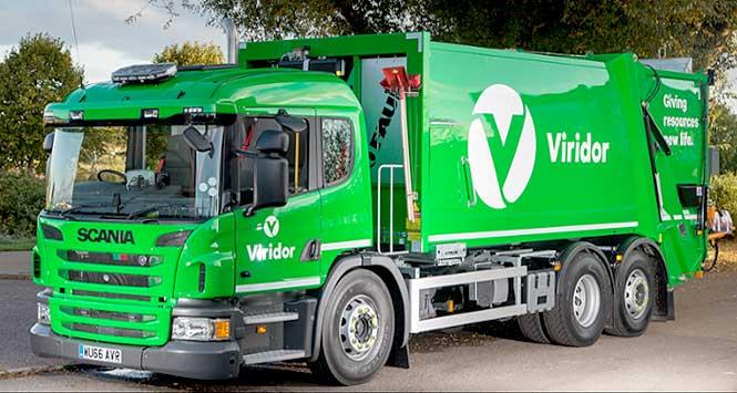 Viridor lorry