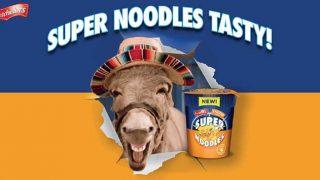 Super Noodles ad