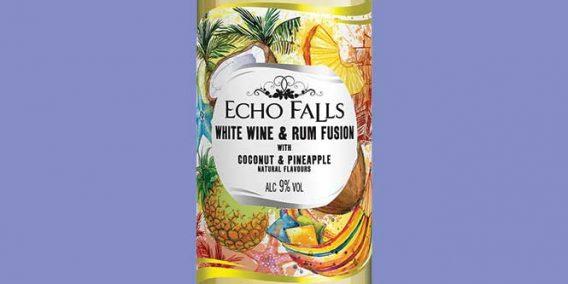 Echo Falls White Wine and Rum Fusion