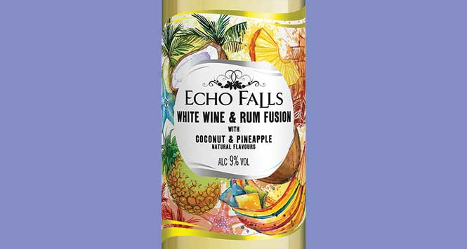Echo Falls White Wine and Rum Fusion