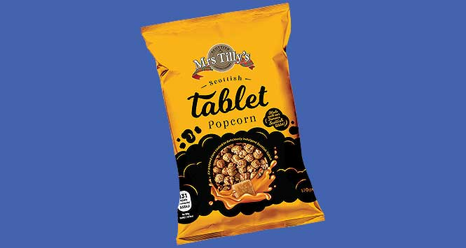 Mrs Tilly's Tablet Popcorn