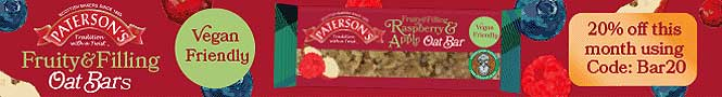 Paterson Arran 20% off Fruity and Filling