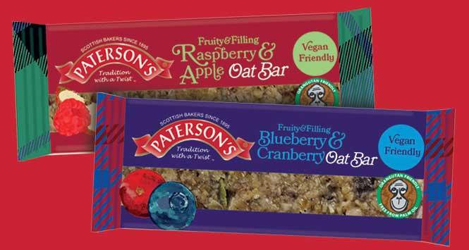 Fruity & Filling Oat Bars