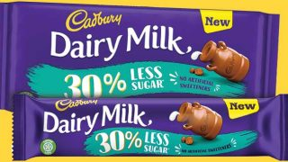 Cadbury Dairy Milk 30% Less Sugar