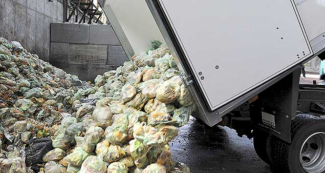 Recycled food waste