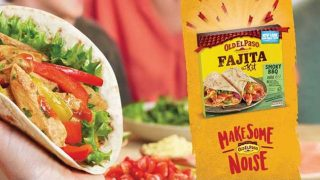 Old EL Paso 'Make Some Noise' POS material