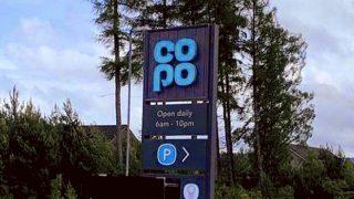 'CoPo' sign