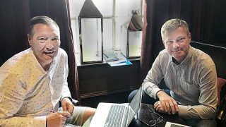Jim Harper and Peter Steel