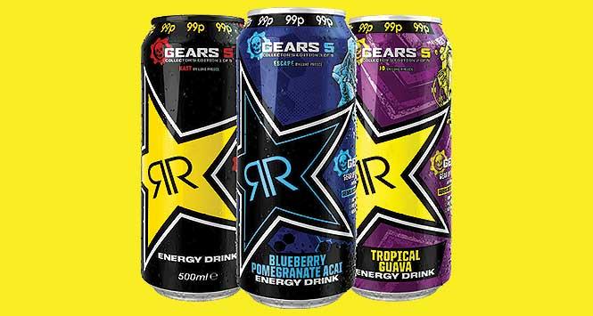 Rockstar cans