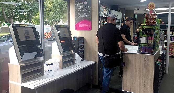 Nisa self-service checkout