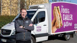 Samworth Brothers Fresh Food for Now van