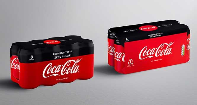 Coca-Cola cardboard multipacks
