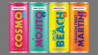 Flare canned cocktails