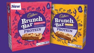 Cadbury Brunch bars with protein
