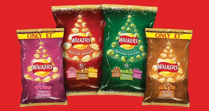 Walkers Christmas range