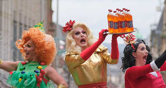 Drag Queens Of Christmas 2020 November 24 Crimbo Juice launch is a drag act to follow   Scottish Local Retailer