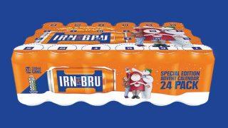 Irn-Bru advent calendar