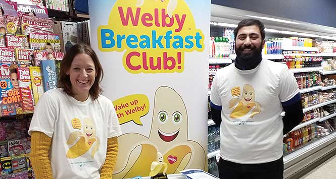 Welby launch event