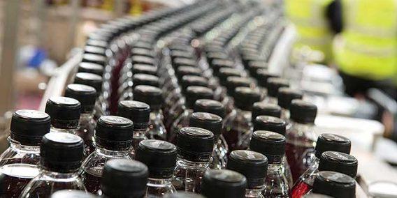 Britvic bottling hall