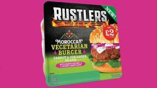 Rustlers Moroccan Vegetarian Burger