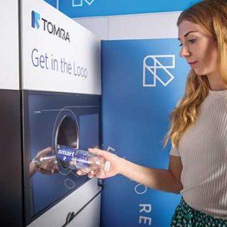 Tomra M1 reverse vending machine