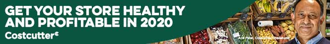 Costcutter healthy store section banner