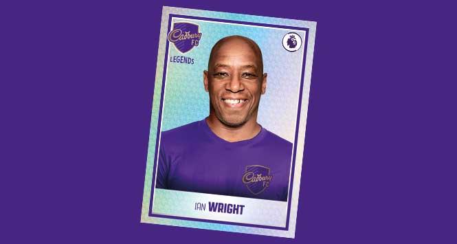 Ian Wright shiny sticker