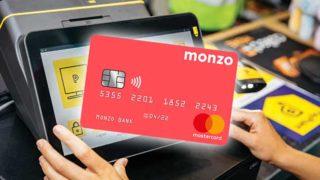 Monzo debit card
