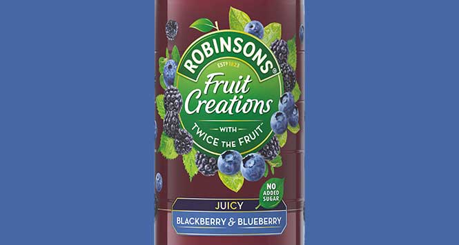 Robinsons Fruit Creations Blackberry & Blueberry