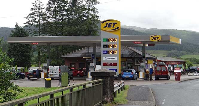 jet petrol station