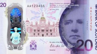 Bank of Scotland £20 note