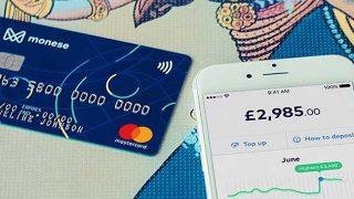 Monese bank card