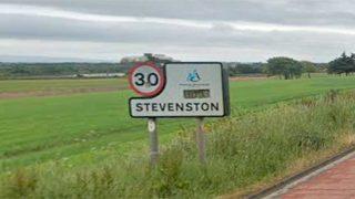 Stevenston sign post