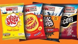 KP snacks range