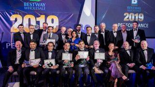 Winners of the Bestway performance awards