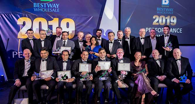 Winners of the Bestway performance awards