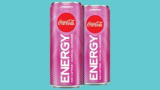 Coca-Cola Energy cherry flavour