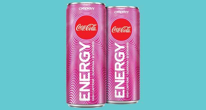 Coca-Cola Energy cherry flavour