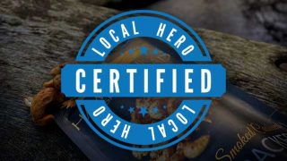 Certified Local Hero logo